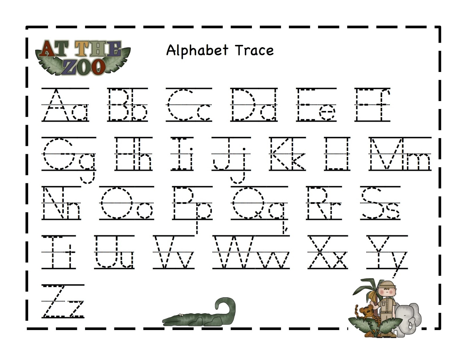 Worksheets Zoo Phonics Worksheets printable coloring phonics worksheets download