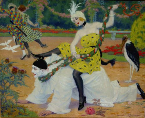 Ludovic Alleaume, Pauvre Pierrot, 1915