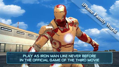 Iron Man 3 – The Official Game 1.0.2 - iphone family world | iphone family
