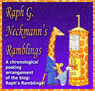 Raph G Neckmann's Ramblings by Ingrid Sylvestre UK artist & writer