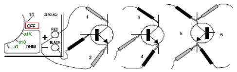 Cara Menguji Transistor dengan AVO Meter | DIEN-ELCOM