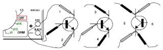 Cara Menguji Transistor dengan AVO Meter