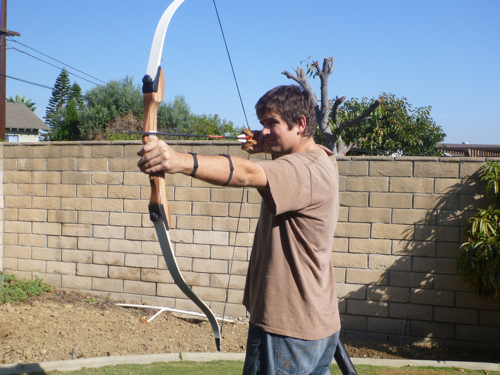 clearwater cottage archery lessons with ben