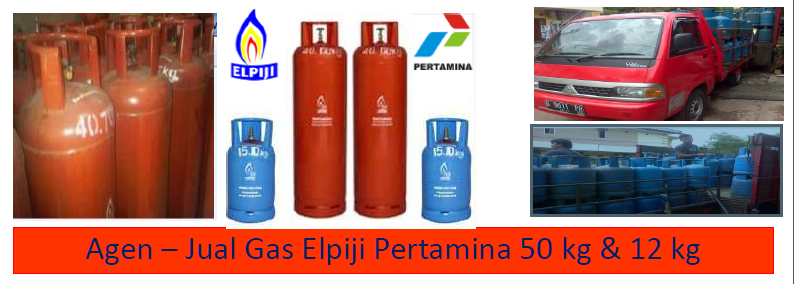 Agen - Jual Gas LPG Pertamina : 50 Kg & 12 Kg; 5,5 Kg