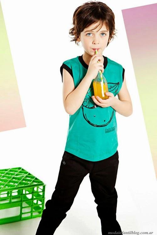 ropa de moda niños primavera verano 2014