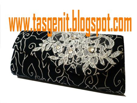 Tas Pesta Clutch Bag Batik Mega Mendung Brokat (TERJUAL KODE 1048) 3e683503bd