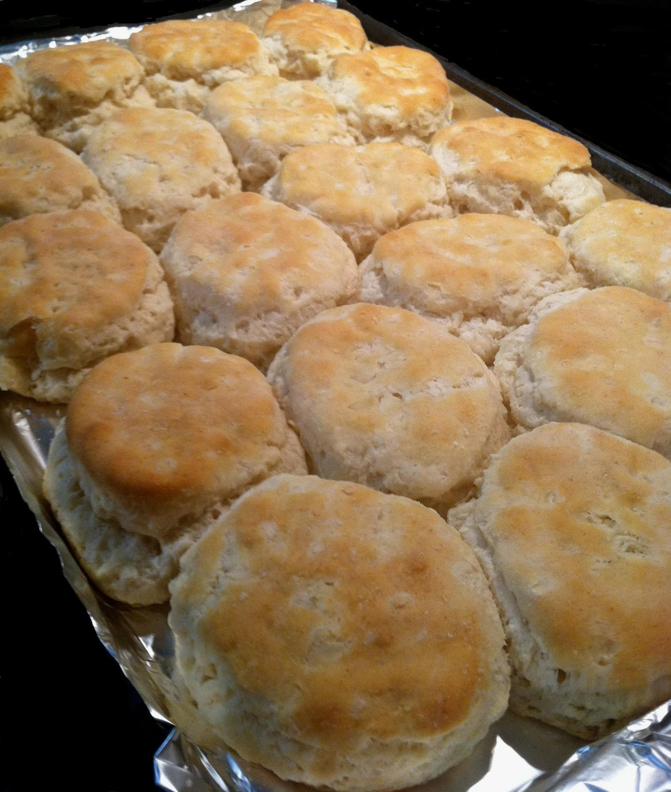Old Fashioned Country Buttermilk Biscuits