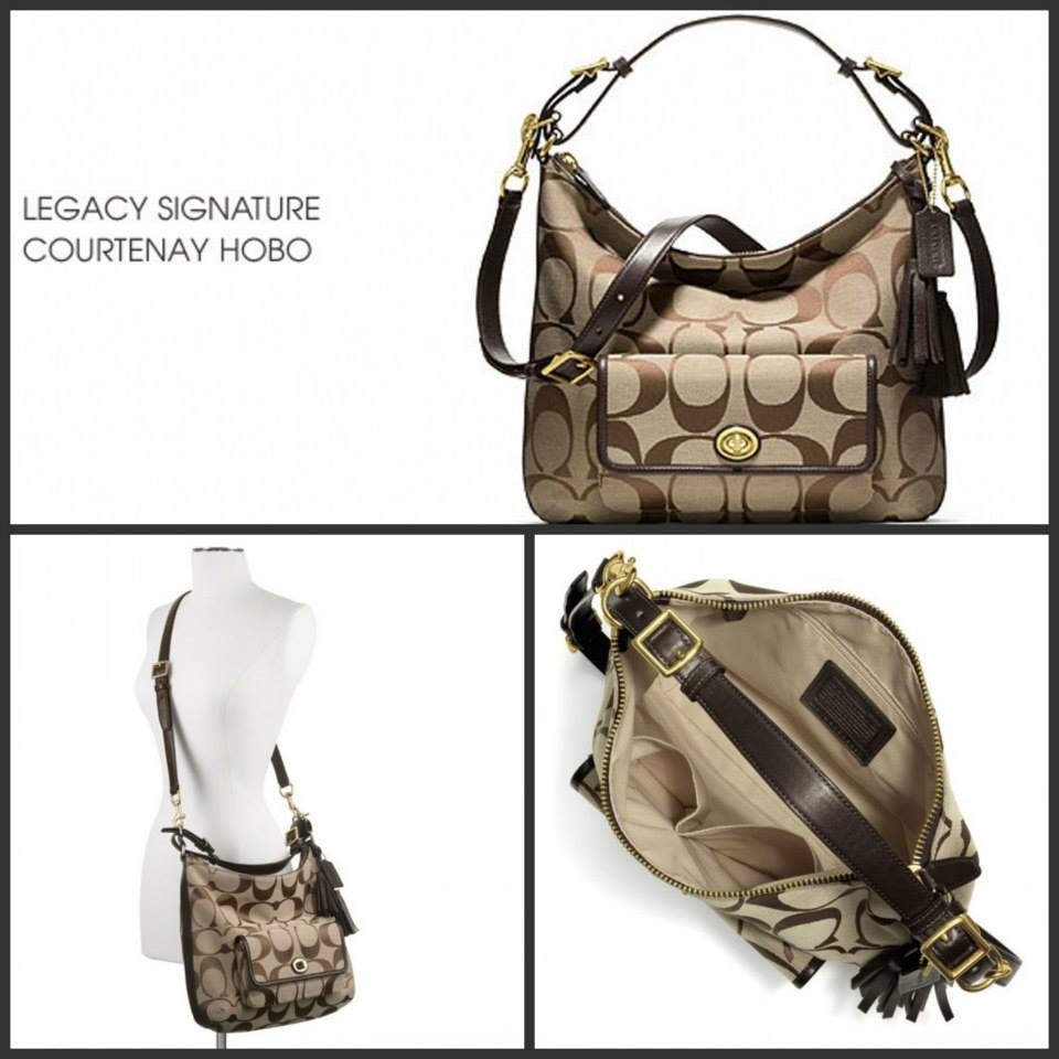 Legacy Courtenay Hobo Shoulder Bag In Signature Fabric 79
