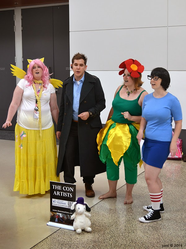 oz comic-con adelaide - the con artists