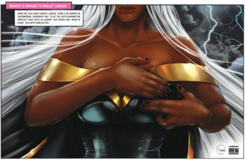 Supermujeres contra el cáncer de mama