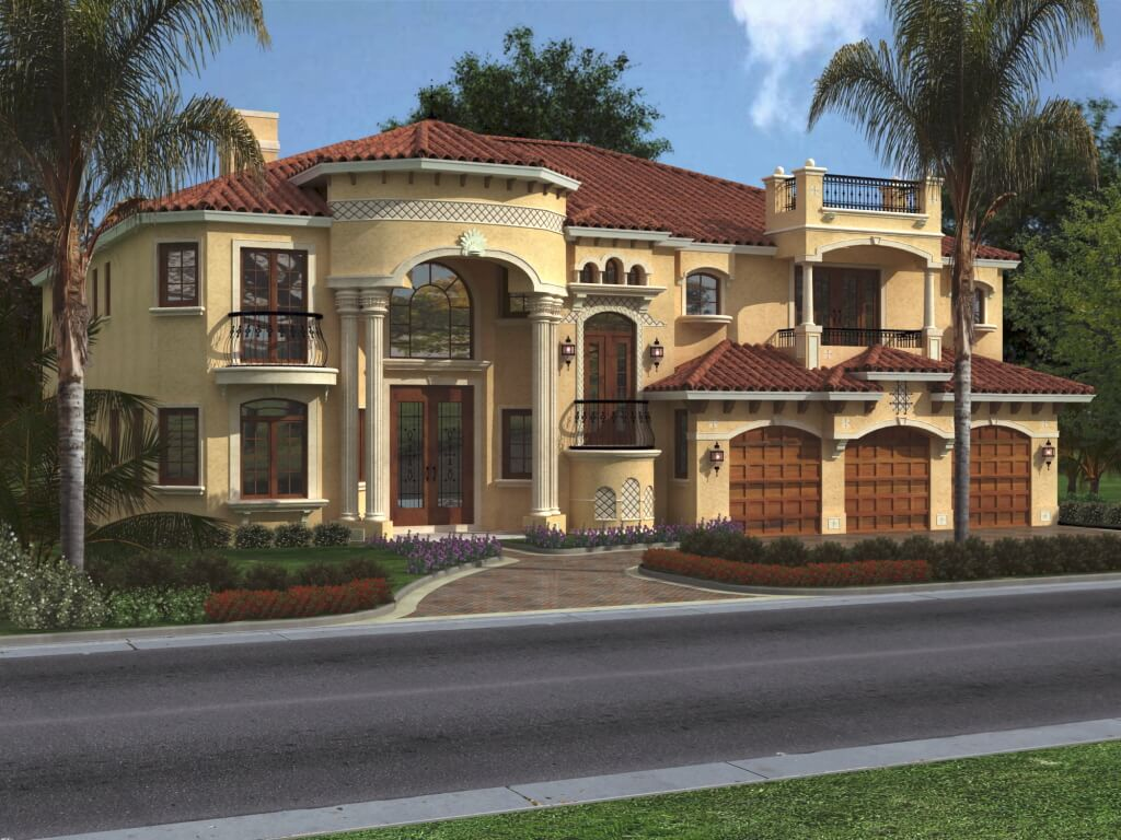 Top catalogue of house front elevation designs new update for Exterior view of house