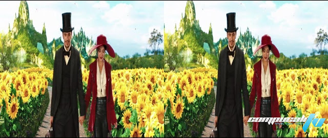 Oz: The Great and Powerful 3D SBS Latino