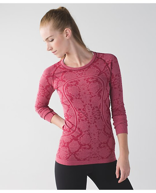 lululemon cranberry-swiftly-ls