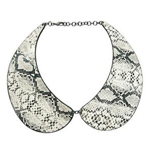 Snake Print Collar