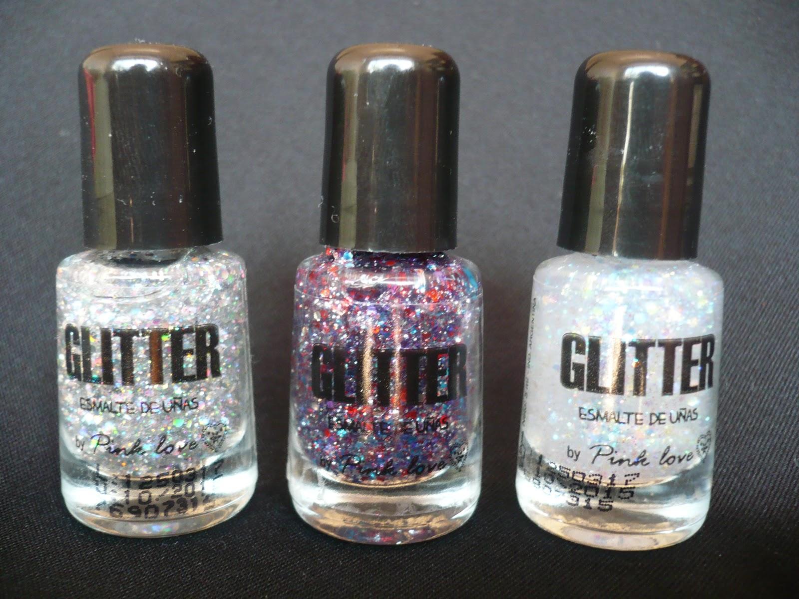 Esmaltes Todo Moda Glitters, opiniones swatch review