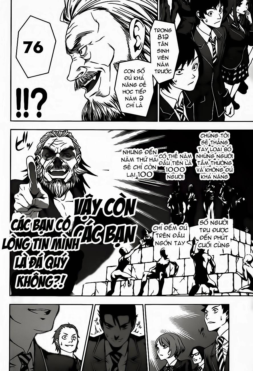 Cuộc Chiến Ẩm Thực chap 4 - Trang 9