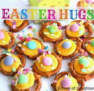 Easter Pretzel Hugs