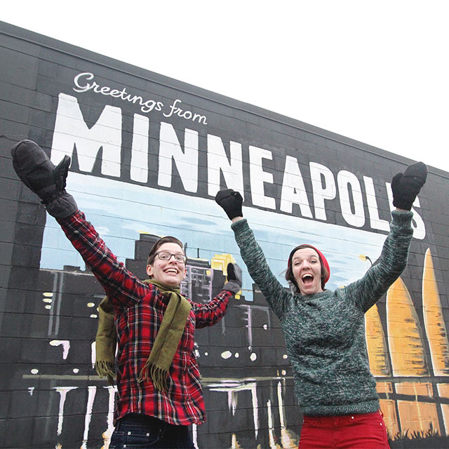 Greetings from Minneapolis, & Happy Holidays!