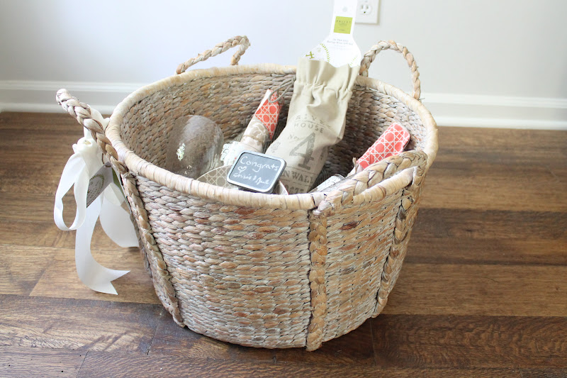 Wedding Or Shower Gift | Picnic Basket