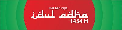 spanduk Idul Adha 1434 H