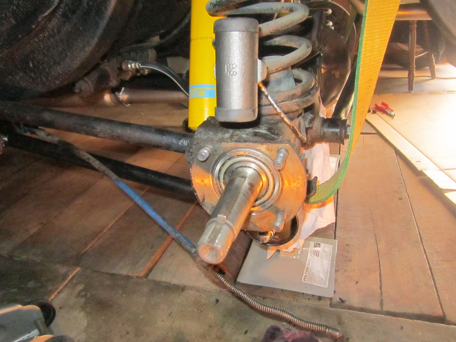 Half shaft with rear wheel bearing Volvo Amazon