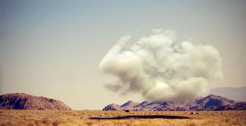 creare una nuvola con cinema4D e Vray
