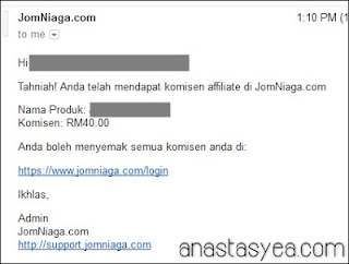 Komisen Affiliate JomNiaga