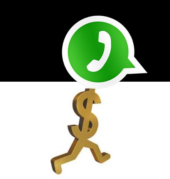 Whatsapp vendido por 19000 millones de Dolares