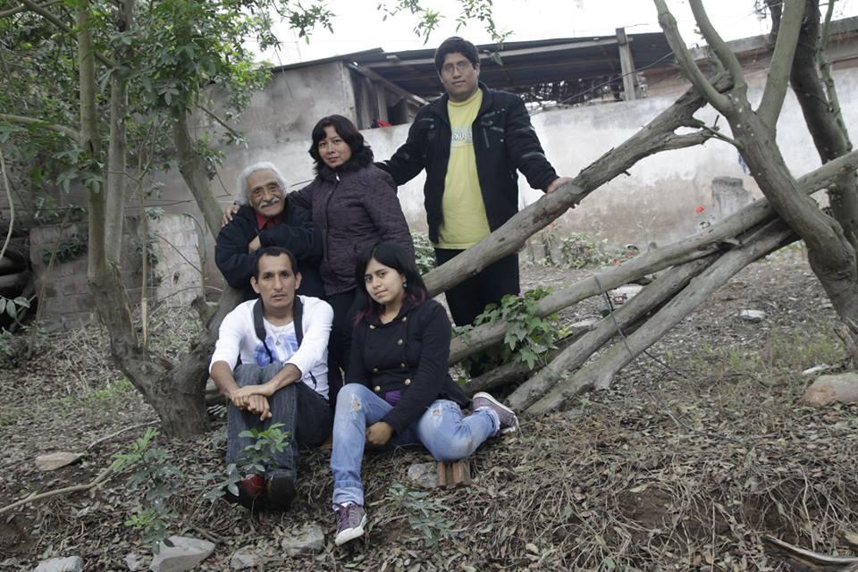 Los que hicieron el Documental. Zoila Capristan, Edgar Vasquez, Antonio Varela, Elizabeth Torres C