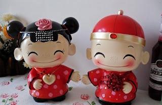 Boneka Couple Imlek - Tahun Baru Imlek, Berikan 5 Kado Unik Ini