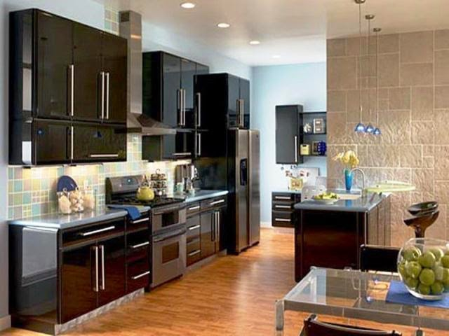 modern wall paint colors for kitchen