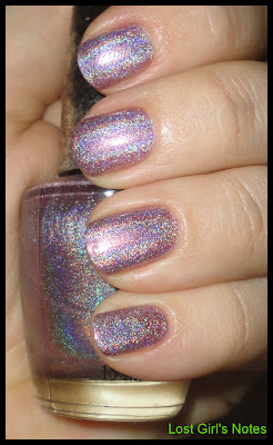 OPI DS amethyst swatches and review