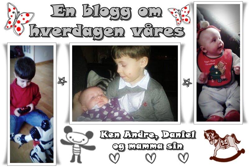 En blogg om hverdagen våres..
