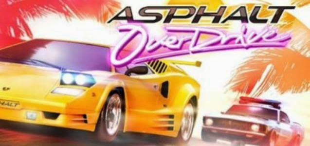 Game Asphalt Overdrive v1.3.1b Apk + MOD + Data Android