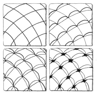 Judys Zentangle Creations Some Patterns To Use