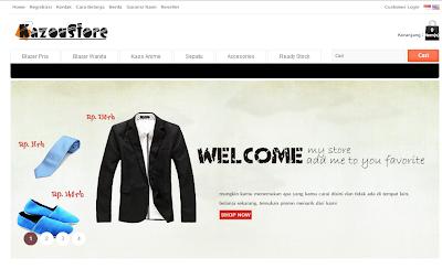 Jual Blazer Korea Pria Murah di Kazoustore.com