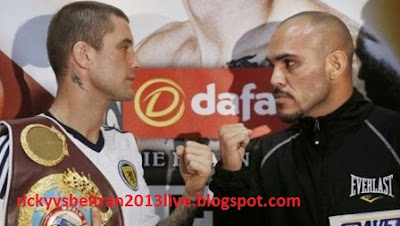 Ricky Burns vs Raymundo Beltran