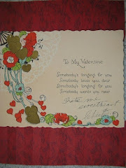 To My Valentine in 1921