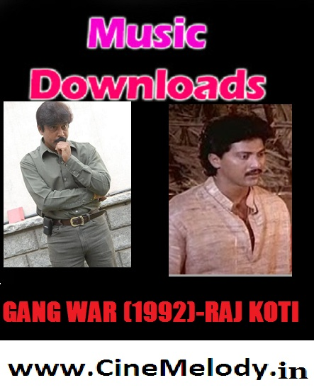 Gangwar Telugu Mp3 Songs Free  Download -1992