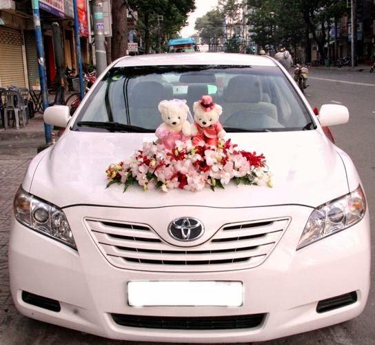 Xu hướng trang trí xe hoa năm 2014: