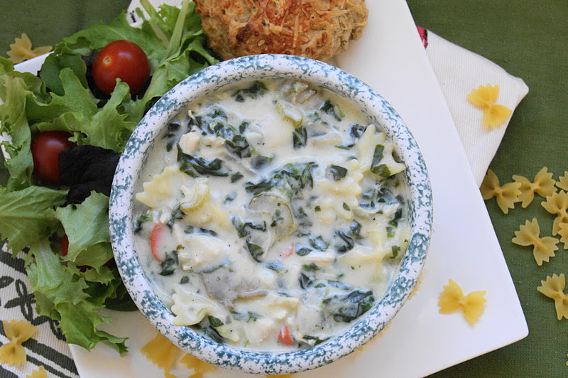 how to serve mini soup