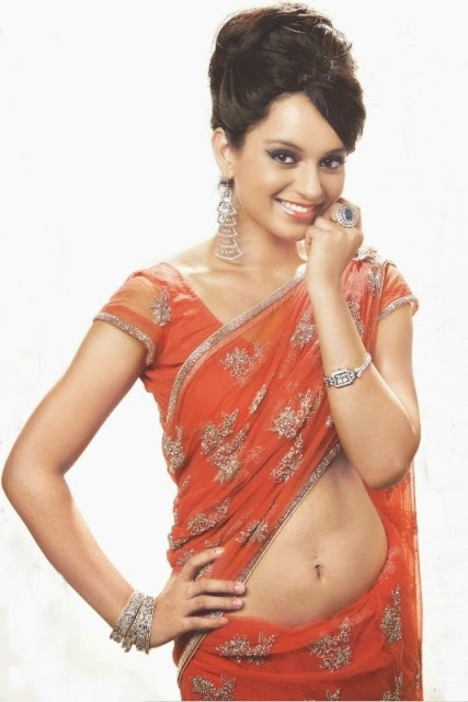 Kangana Ranaut Saree Photos, Kangana Ranaut Saree wallpaper, Kangana Ranaut beautiful Saree, Kangana Ranaut saree wallpaper free