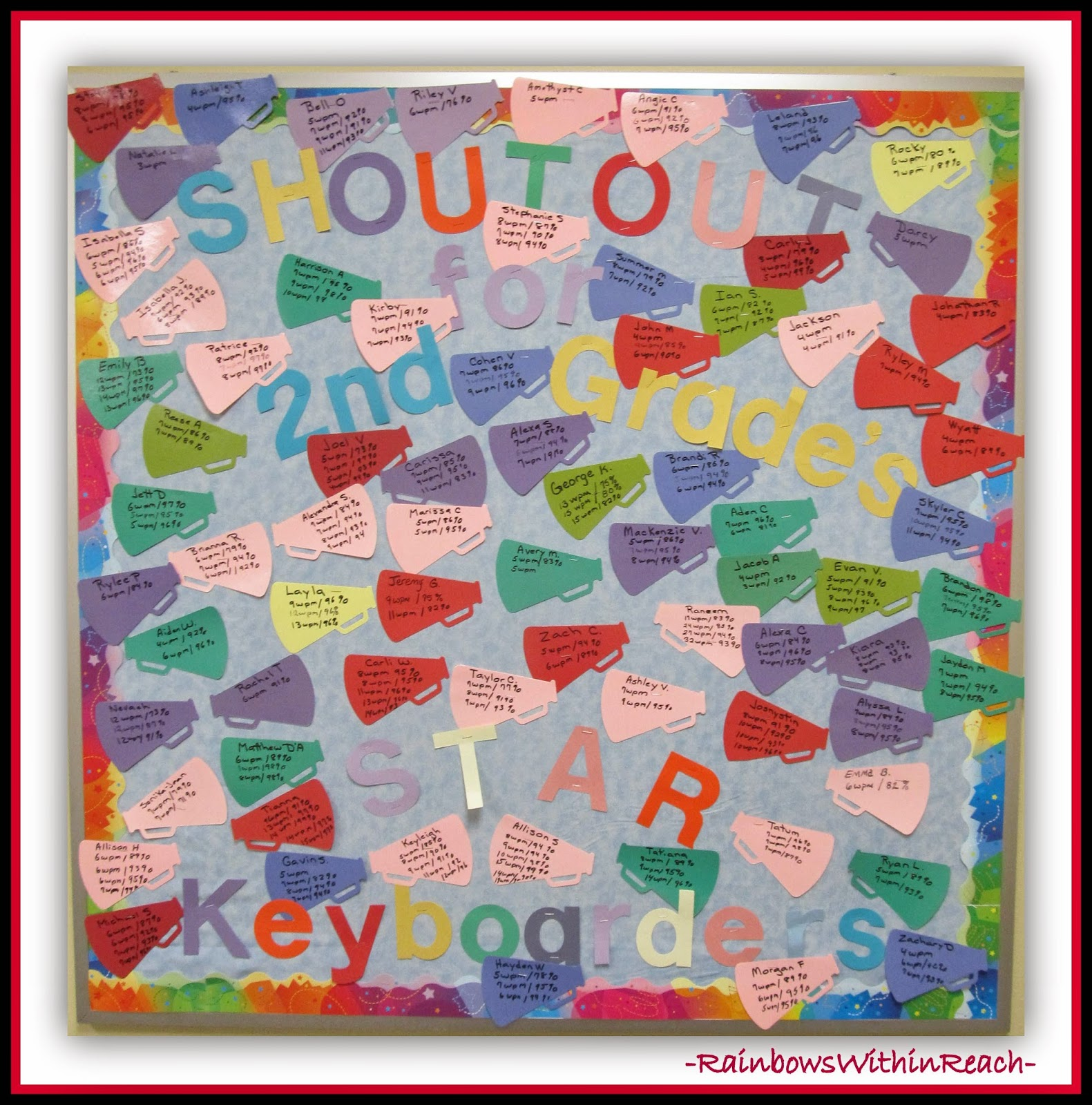 200+ Back to School Bulletin Boards & Classroom Doors at RainbowsWithinReach