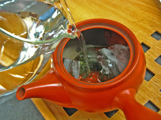 How to brew Japanese green tea Sencha Fukamushi
