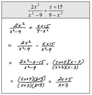 math worksheet : add and subtract rational expressions openalgebra   : Adding And Subtracting Rational Expressions Worksheets