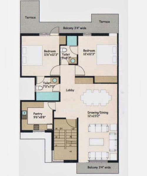 Wave City Floor Plan 7