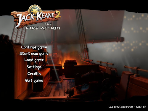 Screen Shot Of Jack Keane 2 The Fire Within (2013) Full PC Game Free Download At Downloadingzoo.Com