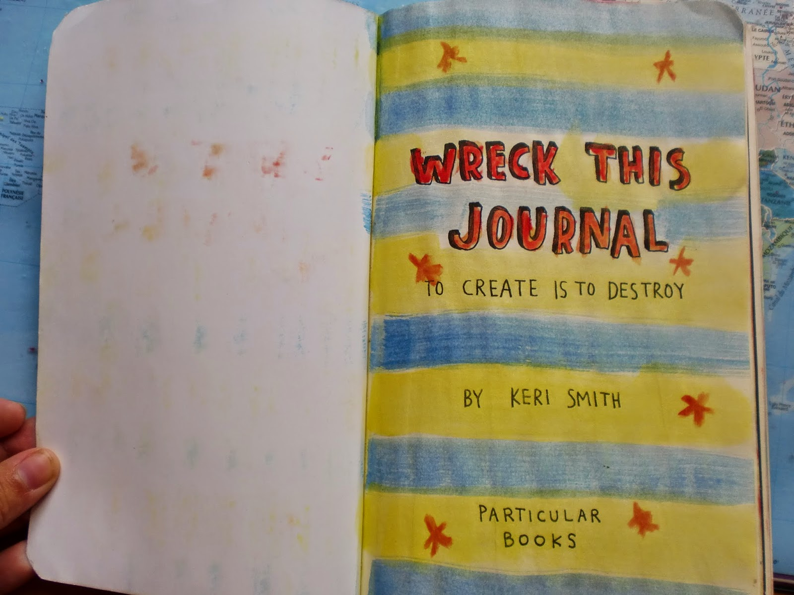 wreck this journal instructions on each page
