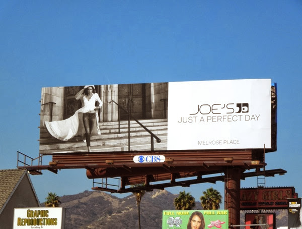 Joes Jeans perfect day wedding dress billboard
