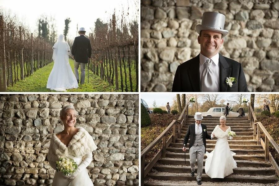 Matrimonio autunnale in un contesto rustico